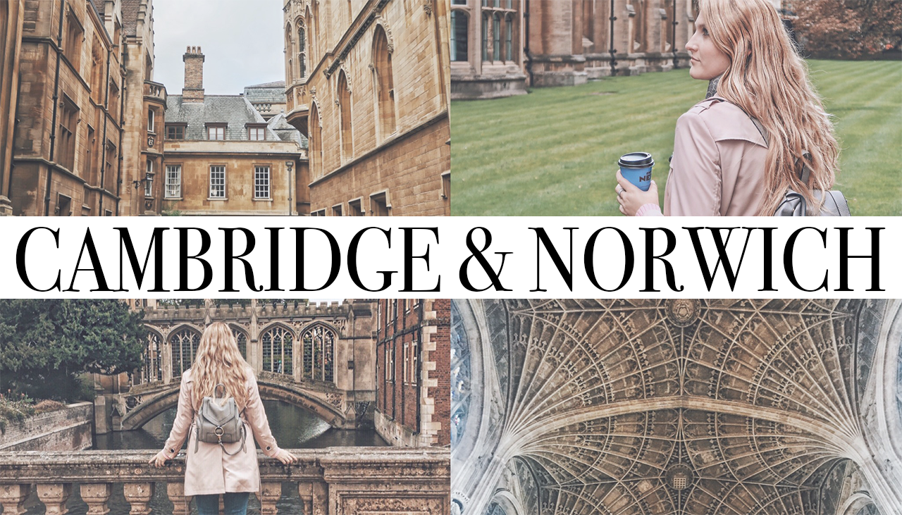 ENGLAND TRIP DAY 1. – Cambridge & Norwich