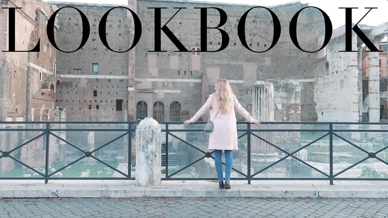 LOOKBOOK – Egy nap Rómában